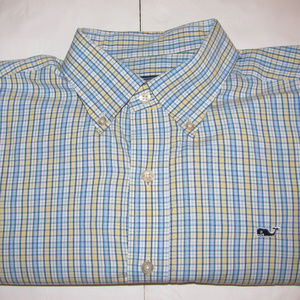 Vineyard Vines Medium LS Mens Whale Shirt